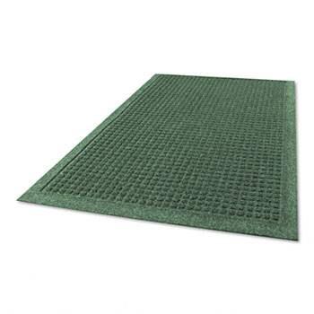 "Guardian EcoGuard Indoor Wiper Mats, Rubber, 36"" x 60"" Green"