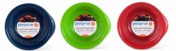 Preserve Recycled Plastic Bowls, Pack/4 Bowls