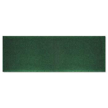 "Guardian EcoGuard Indoor Wiper Mats, Rubber, 36"" x 120"" Green"