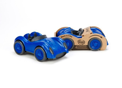 Green Toys Eco-Friendly Race Car Toy- Blue
