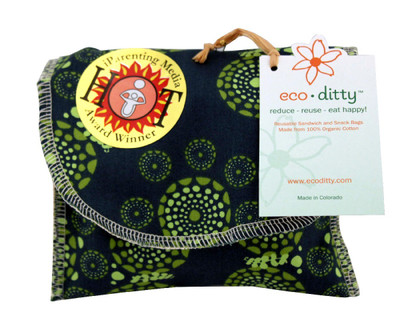 Ecoditty Organic Snack Bag-Eyes on the World
