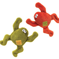 Frog Plush Dog Toy