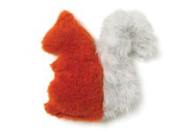 Squirrel Plush Dog Toy