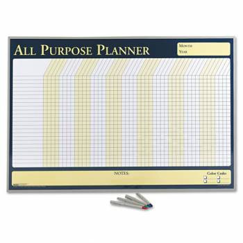 House of Doolittle (HOD6669) All Purpose Planner in Aluminum Frame 40 x 26