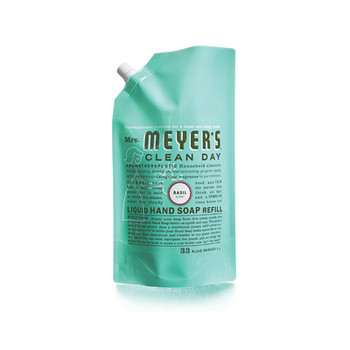 Mrs. Meyer's Liquid Hand Soap Refill Basil