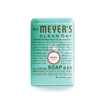 Mrs. Meyer's Bar Soap Basil