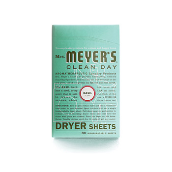 Mrs. Meyer's Dryer Sheets Basil