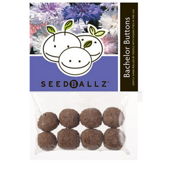 Seedballz Bachelors Button - 8 Pack