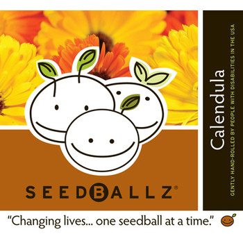 Seedballz Calendula - 8 Pack