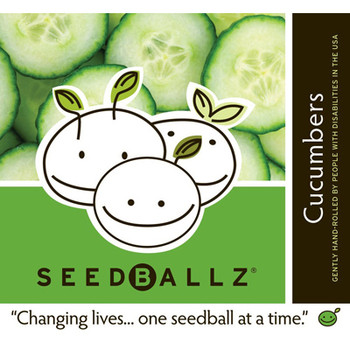 Seedballz Cucumber - 8 Pack