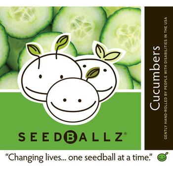 Seedballz Cucumber - 8 Pack