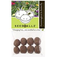 Seedballz Hummingbird/Butterfly - 8 Pack