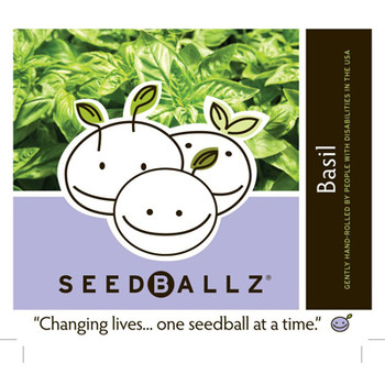 Seedballz Italian Basil - 8 Pack