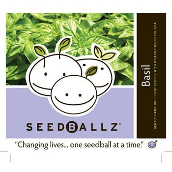 Seedballz Italian Basil - 8 Pack