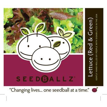 Seedballz Lettuce Mix - 8 Pack