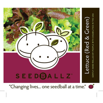 Seedballz Lettuce Mix - 8 Pack