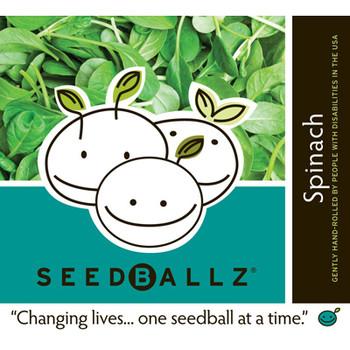 Seedballz Spinach - 8 Pack