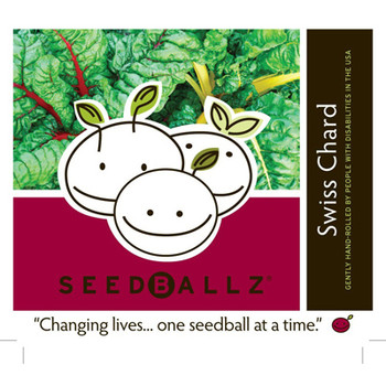 Seedballz Swiss Chard - 8 Pack