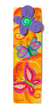 Plantable Butterfly Bookmark