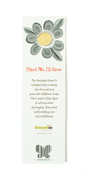 Plantable Flower Bookmark