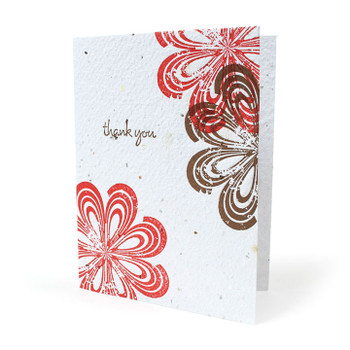 Tropical Thank You Seed Paper Card