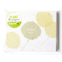 Poplar Thank You Seed Card