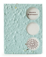 Happy Birthday Seed Paper Keepsake Card