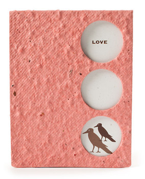 Love Birds Seed Paper Keepsake Card