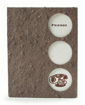Friends Seed Paper Keepsake Card