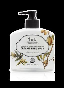 Ultra-Moisturizing Organic Hand Wash-Almond Vanilla