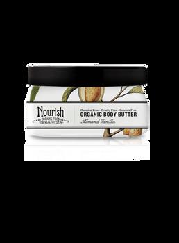 Skin-Softening Organic Body Butter-Almond Vanilla