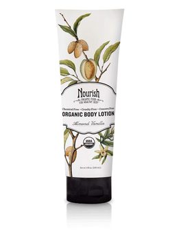 Hydrating & Smoothing Organic Body Lotion- Almond Vanilla