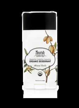 Clean & Fresh Organic Deodorant- Almond Vanilla