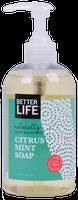 Better Life No Regret Soap - Citrus Mint - 12 fl oz