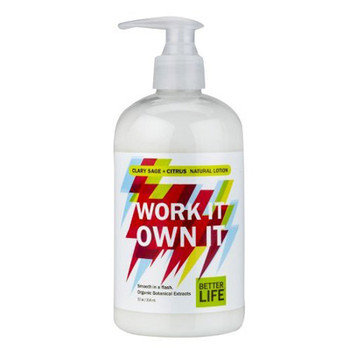 Better Life Work It Own It Lotion - Sage - 12 fl oz