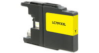 Brother LC79Y, Remanufactured Ink Jet - Yellow (Extra High Yield)
