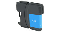 Brother LC65C, Remanufactured Ink Jet, Cyan (High Yield)