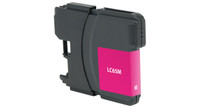 Brother LC65M, Remanufactured Ink Jet, Magenta (High Yield)