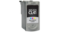Canon CL-41, Remanufactured InkJet Cartridges, Color