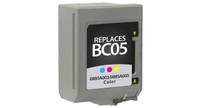 Canon BC-05, Remanufactured InkJet Cartridges, Color