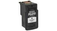 Canon PG-210, Remanufactured InkJet Cartridges, Black