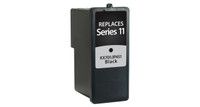 Dell Series 11, Remanufactured InkJet Cartridges, Black