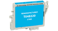 Epson T048220, Remanufactured InkJet Cartridges, Cyan