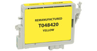 Epson T048420, Remanufactured InkJet Cartridges, Yellow
