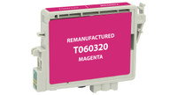 Epson T060320, Remanufactured InkJet Cartridges, Magenta