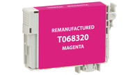 Epson T068320, Remanufactured InkJet Cartridges, Magenta, (High Capacity)