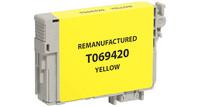 Epson T069420, Remanufactured InkJet Cartridges, Yellow
