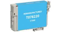 Epson T078220, Remanufactured InkJet Cartridges, Cyan
