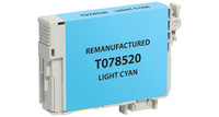 Epson T078520, Remanufactured InkJet Cartridges, Light Cyan