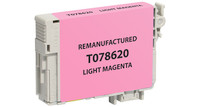 Epson T078620, Remanufactured InkJet Cartridges, Light Magenta